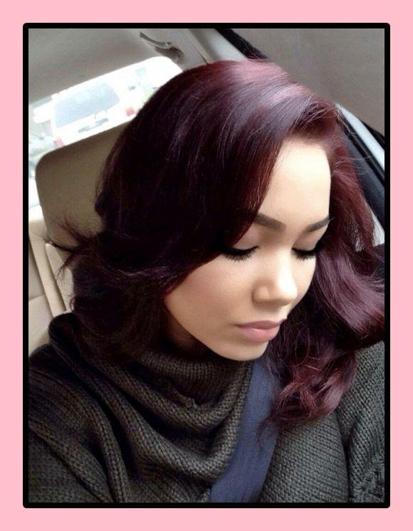 schwarze haarfarbe