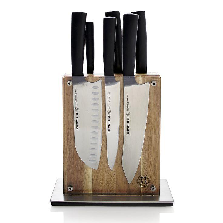 Shop Schmidt Brothers R 7 Piece Carbon 6 Knife Block Set
