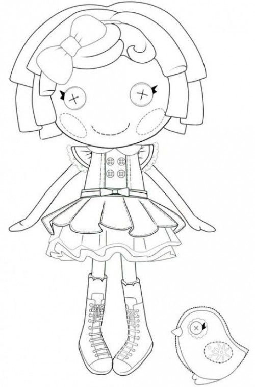 Lalaloopsy-color-pages
