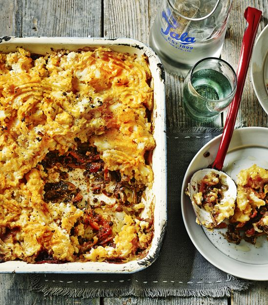 This simple, hearty, meat-free shepherd's pie is packed full of healthy vegetables and lentils