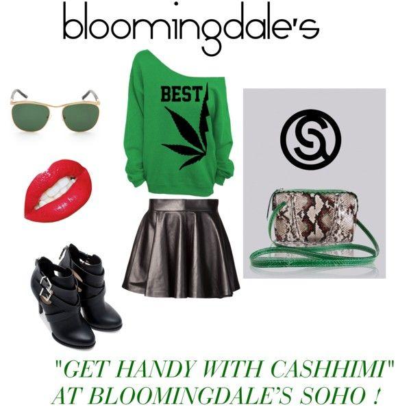 Cashhimi at Bloomingdale's NYC