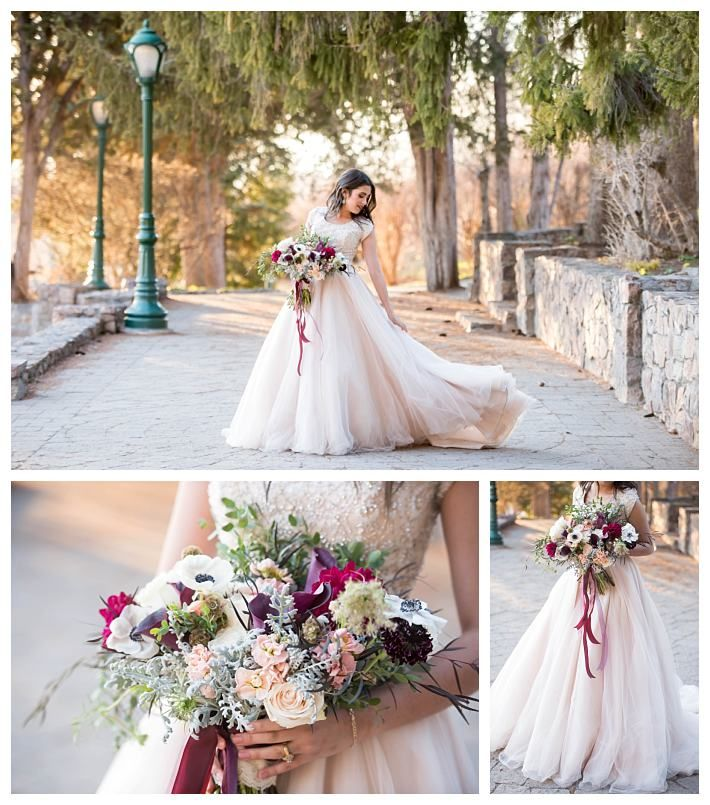 springtime bridals with a modest wedding dress | LatterDayBride at Gateway Bridal | SLC | Utah | Worldwide Shipping | Shop Online | LDS Bridals | Formals | Modest Wedding Dress | Arquette
