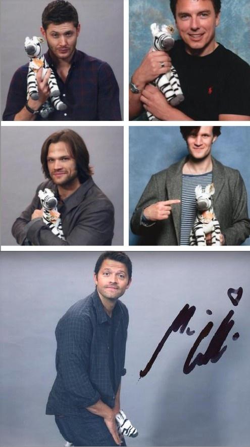 meanwhile Misha...