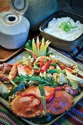 Guinataang Alimasag by Chef Soc Inonog, CCE, ACF  For recipes , visit Islakulinarya blogspot