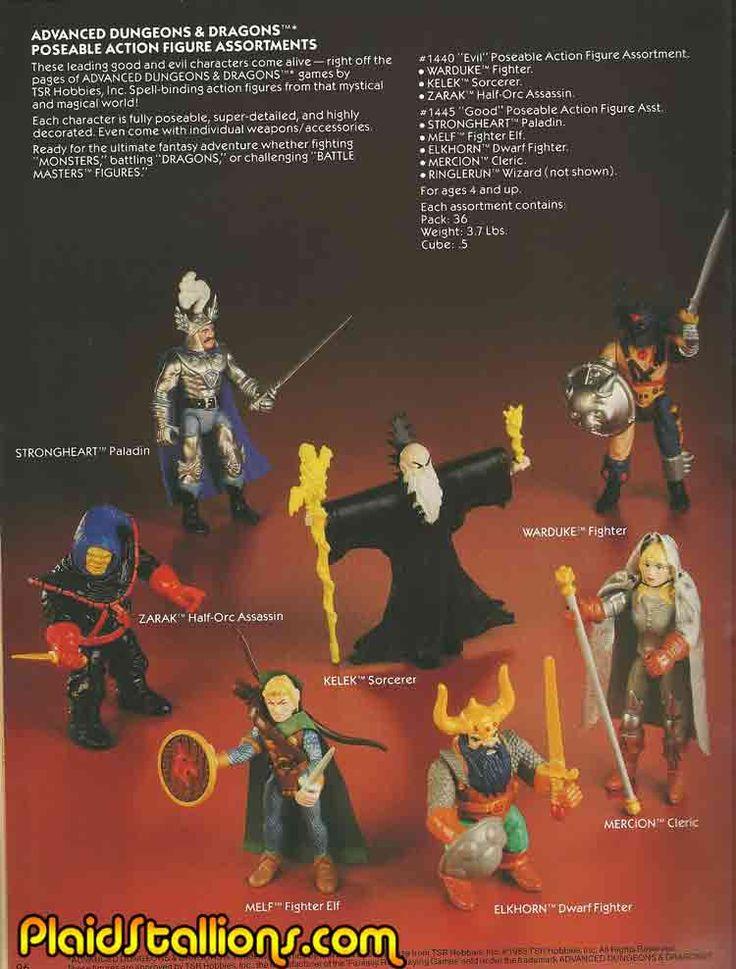 Dungeons & Dragons Figures ~i had Warduke, Strongheart, and Kelek