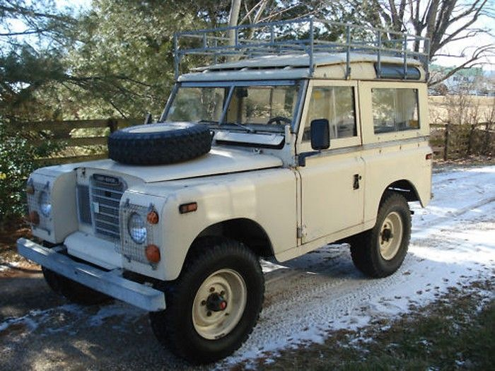 Hemmings Find of the Day – 1973 Land Rover Series III Model 88   Hemmings Daily