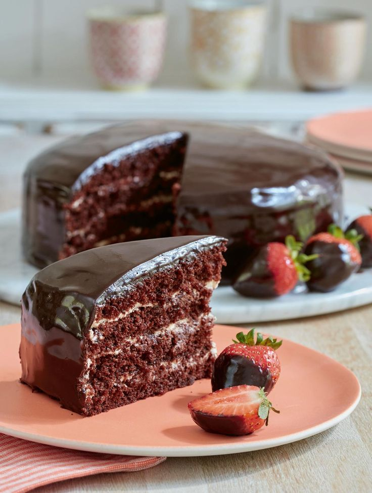 Chocolate Reflection Cake - The Happy Foodie