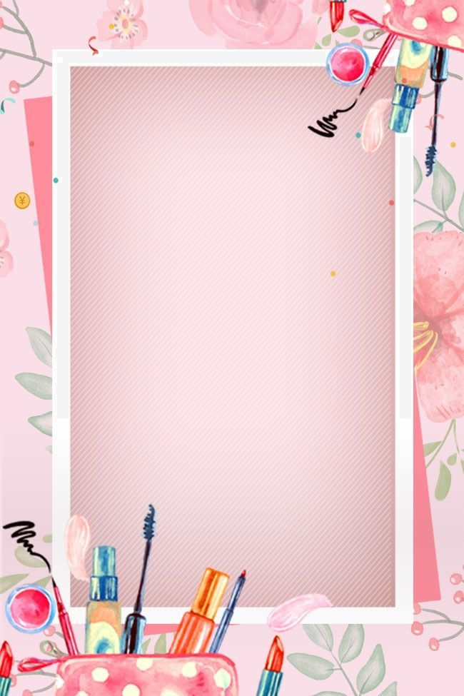 Pink Beautiful Beauty Makeup Poster Background Material In 2020 Makeup Poster Makeup Wallpapers Makeup Backgrounds