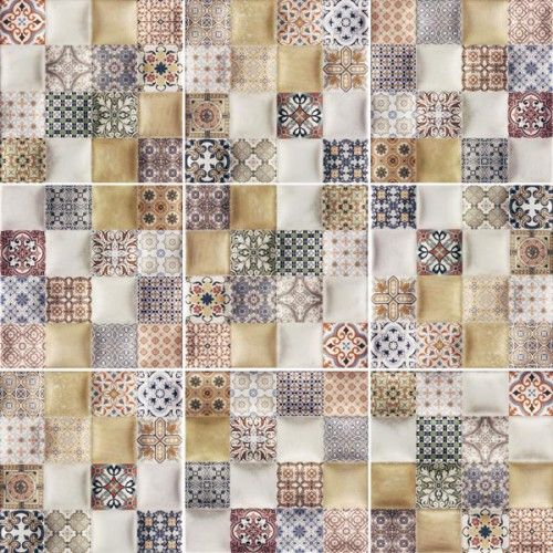 Volumen Milano Gloss Glazed Ceramic Wall Tile 200x200mm - Tiles