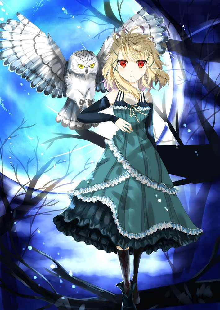Black Bullet | Tina Sprout (Owl Model, Rank 98) #anime