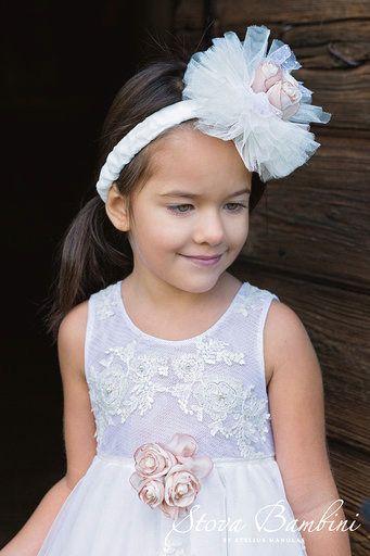 fe2f9be7216d Βαπτιστικό ρουχο για κορίτσι απο την Stova bambini