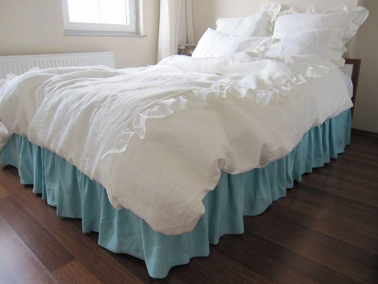 Target White Ruffle Bed Skirt