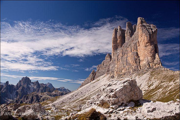 Южный Тиролью Tre Cime di Lavaredo