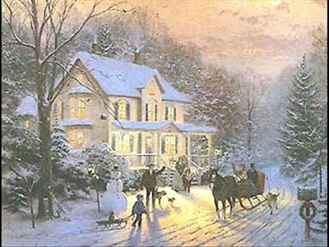 ♪ It's The Most Wonderful Time of the Year ♪ ~  Andy Williams singing and video shows Thomas Kinkade paintings.