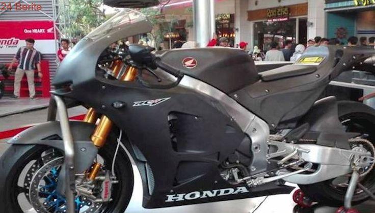 Motor Balap Marc Marquez Versi Jalanan Nongkrong di Bekasi