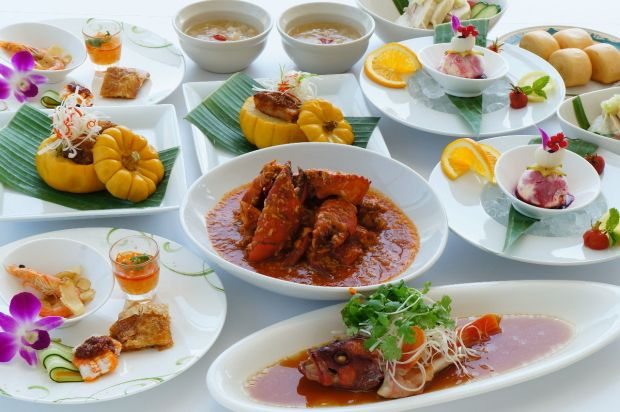 Singapore Lunch Buffet Ginza 1,750 adults  Lunch 11-14:30