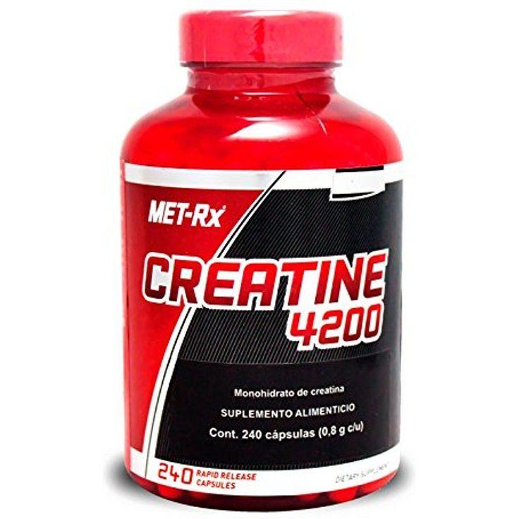 Creatine Monohydrate Powder Capsules Caps Pills Optimum Benefits Nutrition 240CT #METRx