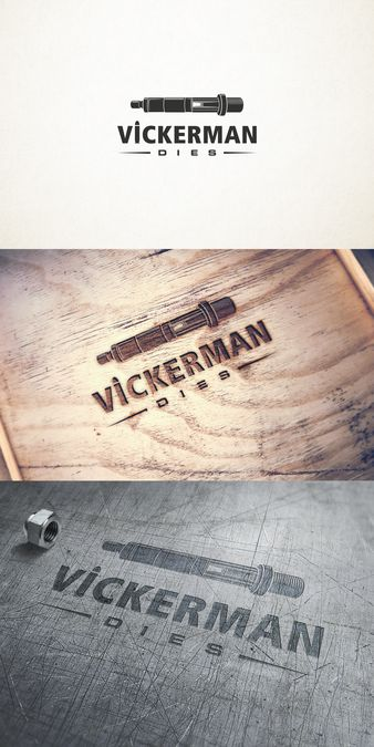Creative custom design for Unique Vickerman Reloading Die by alexandarm