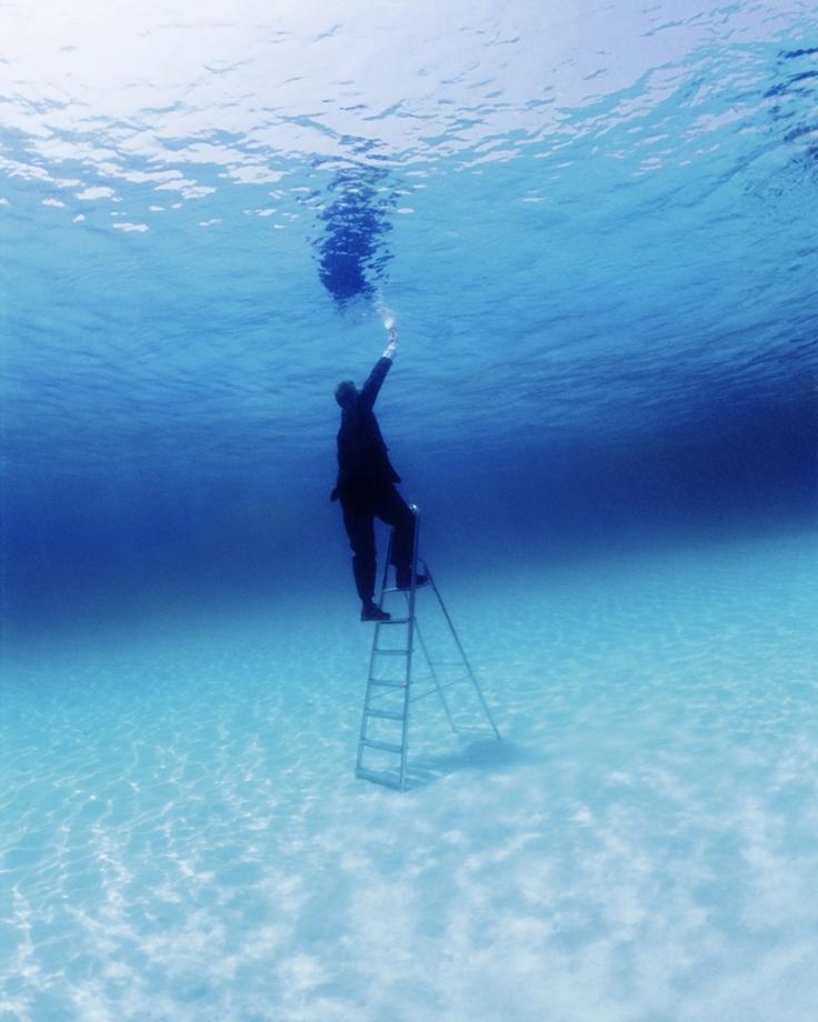 Philippe Ramette - Ladder