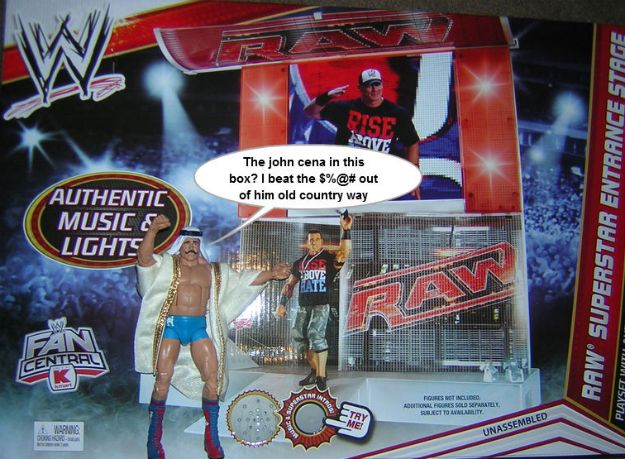 wwe playsets | ... Speech: WWE Entrance Stage and the Lost Art of the Playset « Nerdist