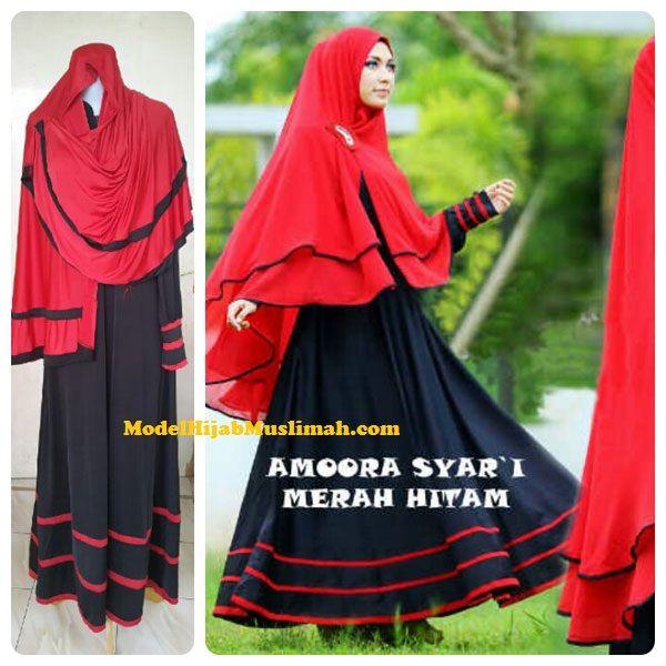 Baju Gamis Muslim Amoora