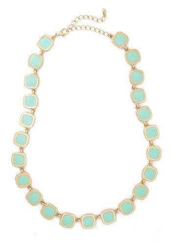 Emcee Squared Necklace, #ModCloth