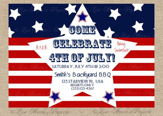 4th of july store ads