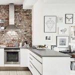 10 Cocinas con ladrillo visto