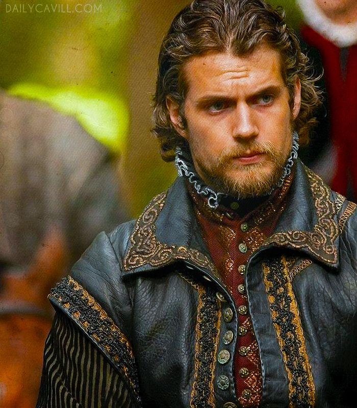Henry Cavill as the Duke of Suffolk (season 4) via DailyCavill.com