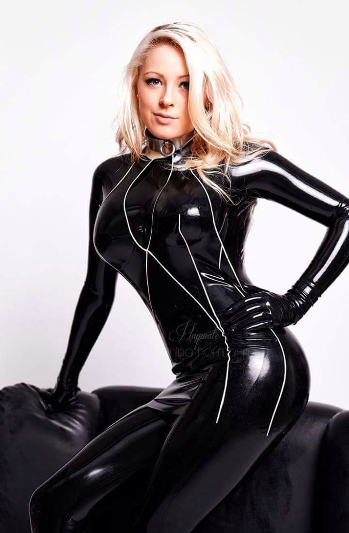 sexy women in latex