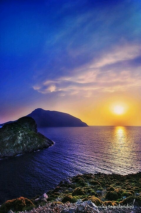 Orea sunset in Kalymnos!!