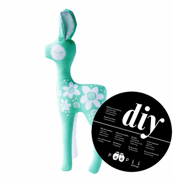 Gör det själv-kit Bambi mint