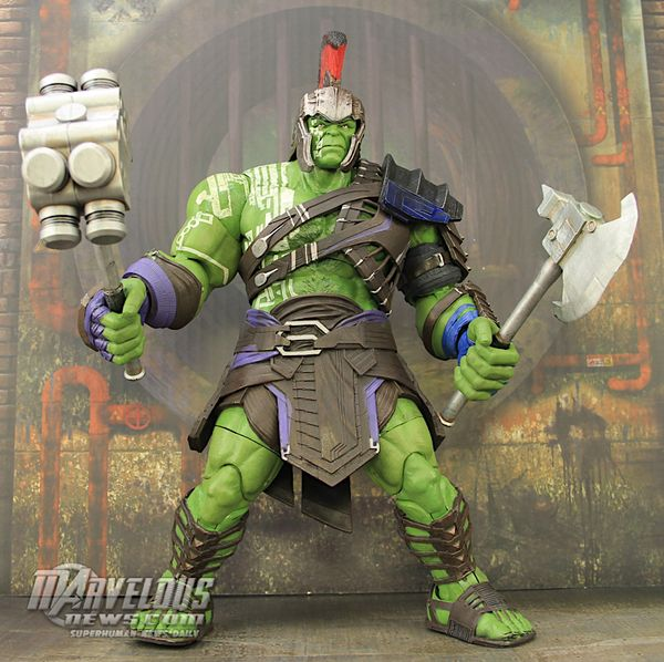 "New #Marvel Select 7"" Thor: Ragnarok Gladiator Hulk Figure Video Review & Image Gallery #Marvel"