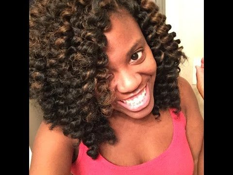 Examples Of Crochet Hair Styles : Simpler example of knot free crochet hair #crochetbraids