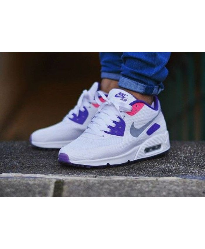Air Max 90 Hyperfuse Id Ultra Violet Trainer