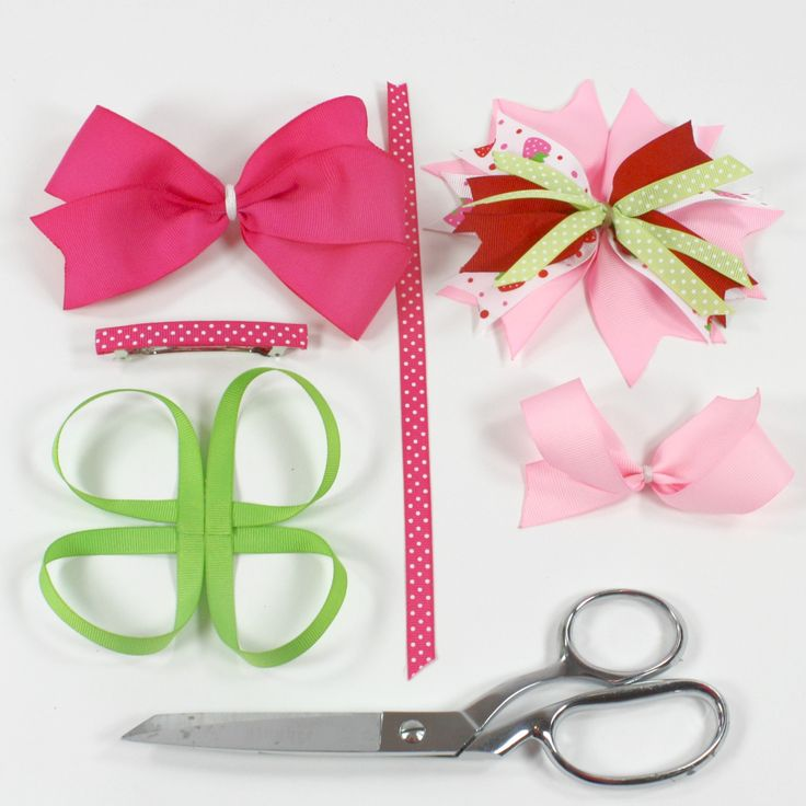 boutique style hair bow tutorial how to make a stacked bow 비비드 리본 및 포장 6832