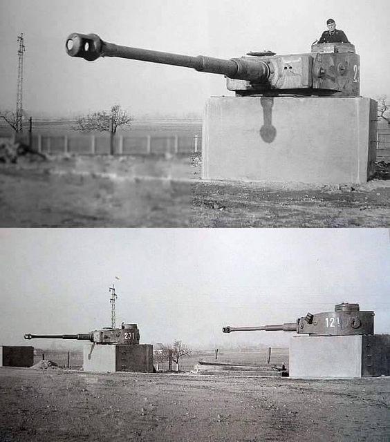"stukablr: ""Tiger Tank Gunnery school in Putlos, Germany """