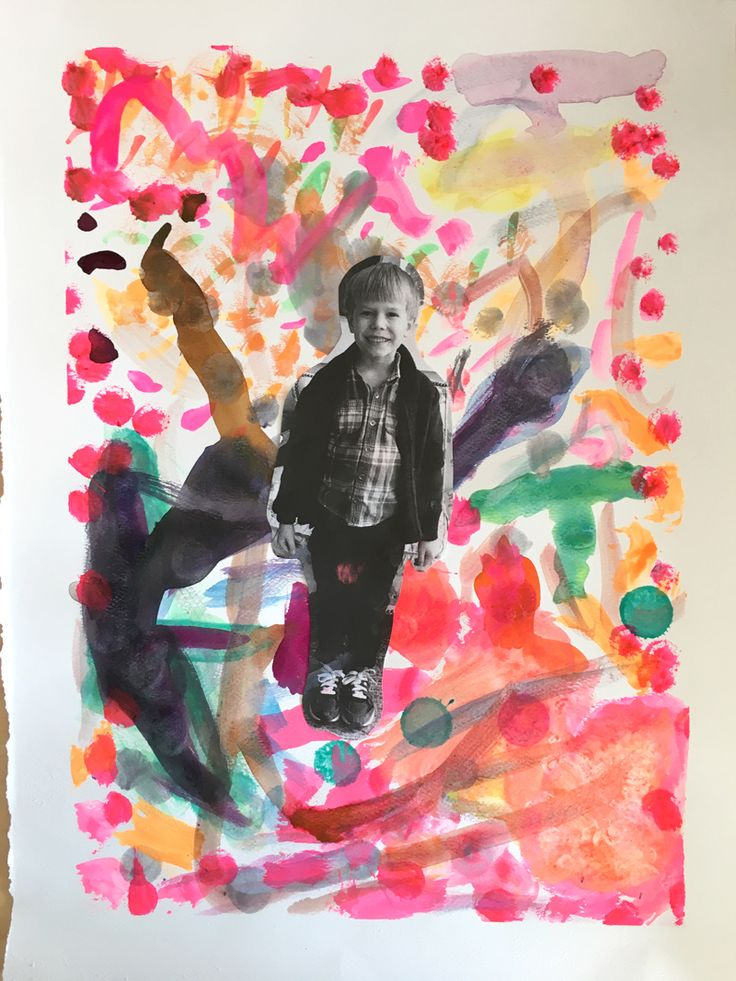 Self Portraits. What does your imagination look like? from Art Bar | Children use this one prompt to create imagination-filled portraits