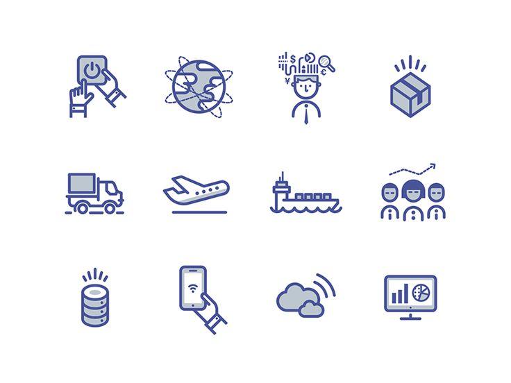 Business & Education Icon Set