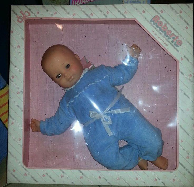 ROBERTO Creazione FURGA - RARISSIMA Bambola vintage anni 80