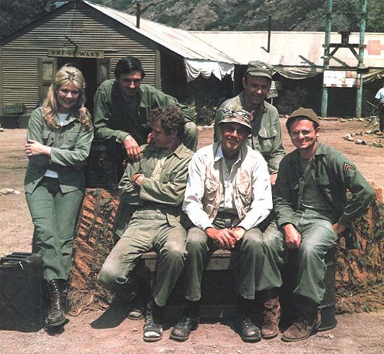 M*A*S*H: the Henry Blake years—when Margaret was still the enemy and Trapper was Hawkeye's partner in crime. In other words, the glory years...