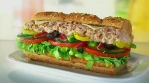Subway Tuna Footlong = 48grams of Fat (without cheese)