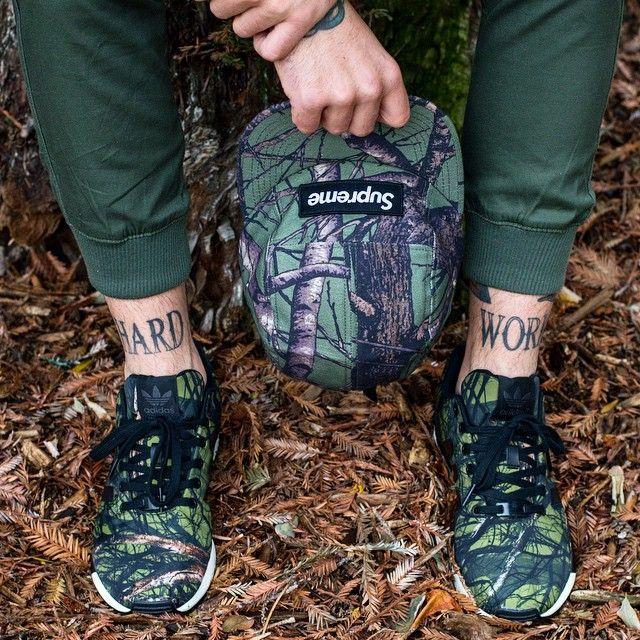adidas originals ZX Flux 'Tree' by danidahe Buy it @ adidas US | adidas UK | footasylum | Size? | Allikestore