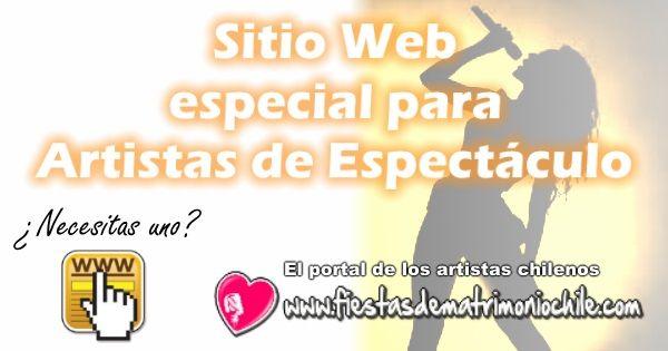 Tener un Sitio Web es parte de ser un artista profesional