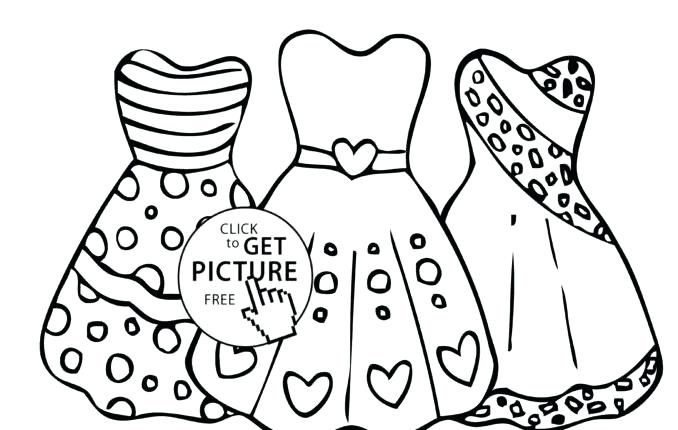 Pretty Dresses Coloring Pages Dresses Coloring Pages Dress Coloring Pages For Girls Dress Free Cute Coloring Pages Easy Coloring Pages Cool Coloring Pages