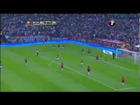 México vs Panama 2-1 [Gol de Chilena de Raul Jimenez] 11/10/2013