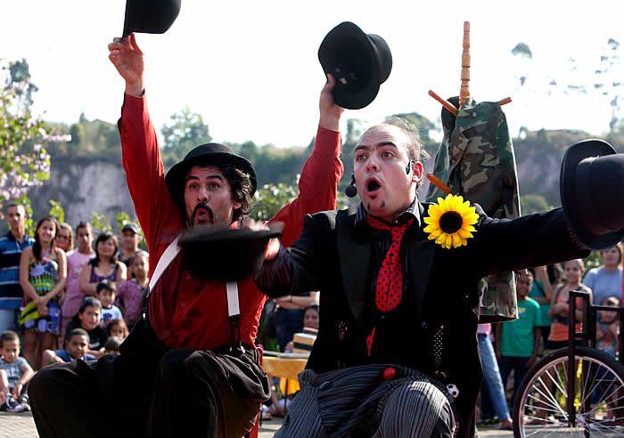 Música, dança, teatro, circo, cinema, artes visuais e literatura serão atrações no Lago Azul, em Rio Claro, no dia 7 de maio (domingo) a partir das 16 horas