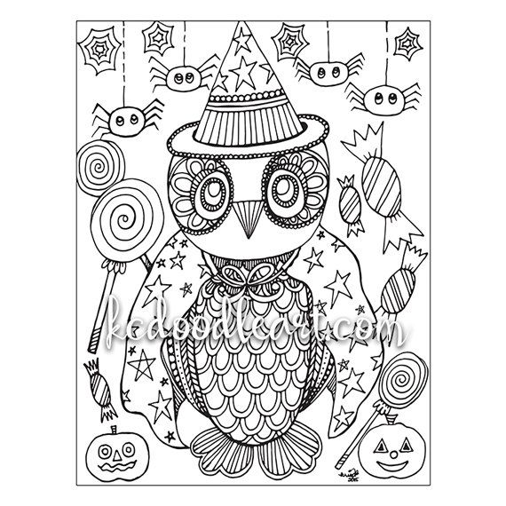 114 best Halloween Colors images on Pinterest Coloring books