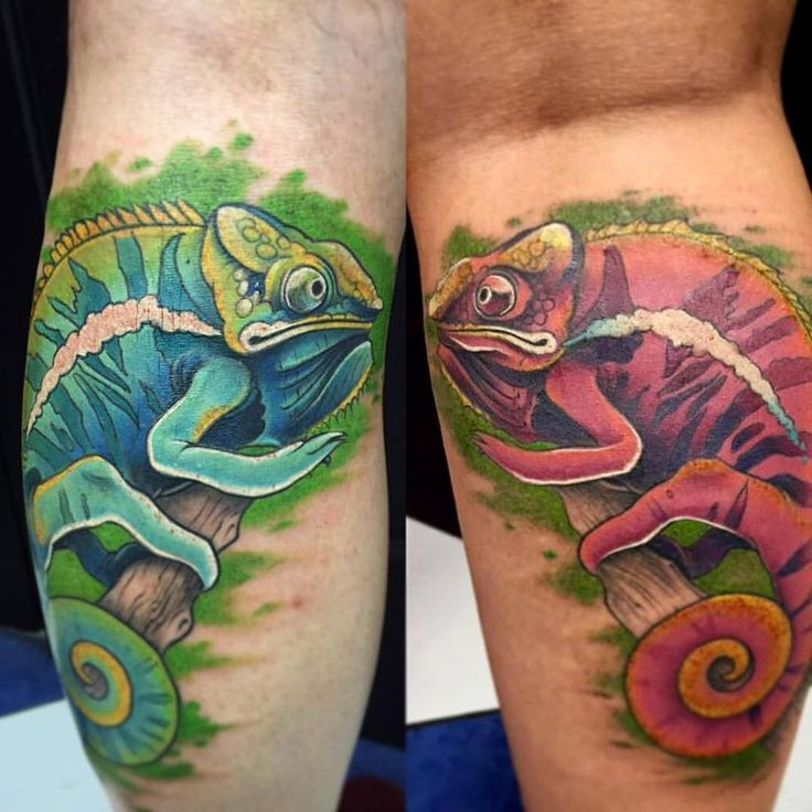 Zumba Tattoo Ideas: Best 25+ Chameleon Tattoo Ideas On Pinterest