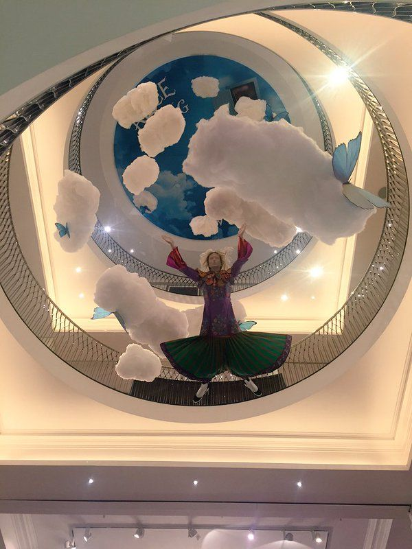 """FORTNUM & MASON,London, UK, """"I'm Late.I'm Late!, for a very important date"""", (Alice Through The Looking Glass), pinned by Ton van der Veer"""